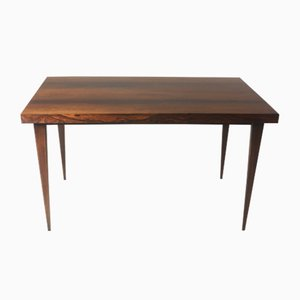 Mid-Century Modern Brazilian Hardwood Desk Table, 1960s