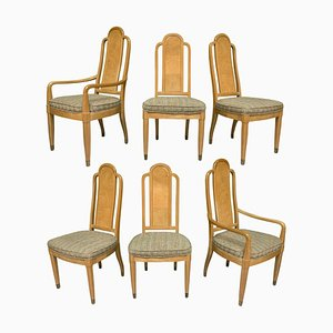Vintage Scene Dining Chairs from Henredon, Set of 6
