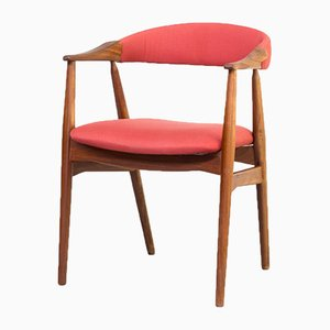 Cowhorn Chair by Th. Harlev for Farstrup Møbler, 1960s