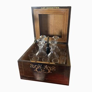 Antique Liquor Cellar Set