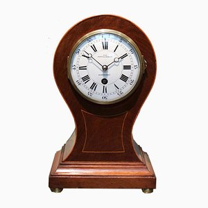 Antique Edwardian Balloon Clock from Mappin & Webb Silversmiths