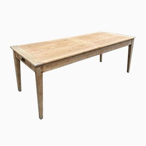 Vintage Farmhouse Table with Spindle Legs, 1940s