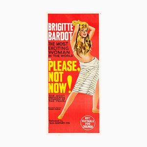 Bitte nicht jetzt! Plakat, 1963