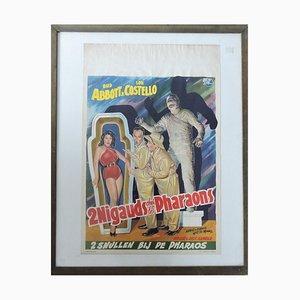 Abbot & Costello Poster 2 Nigaden unter den Pharaonen, 1955