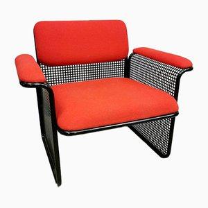 Italienische Vintage Sessel & Tisch von Talin Vicenza, 1970er, 3er Set