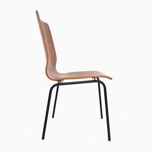 Sperrholz Euroika Esszimmerstühle von Friso Kramer für Auping, 1960er, 3er Set