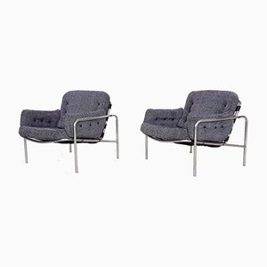Osaka Lounge Chairs by Martin Visser for 't Spectrum, the Netherlands, 1960s, Set of 2
