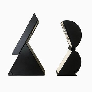 Delta and Disco Table Lamps by Mario Bertorelle for JM RDM, 1980s, Set of 2