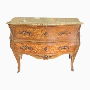 Cómoda Louis XVI antigua de palisandro