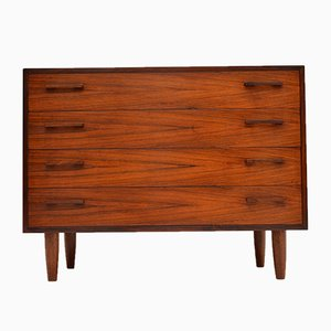 Danish Rosewood Chest of Drawers by Kai Kristiansen, 1960s