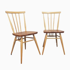 Windsor Dining Chairs by Lucian Ercolani for Ercol, 1960s, Set of 2