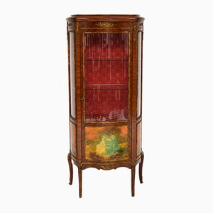 Vintage French Style Ormolu Mounted Display Cabinet