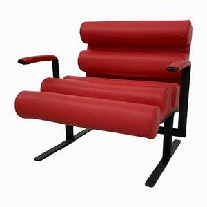 Roll Lounge Chairs by Joe Colombo for Comfort Meda, 1962, Set of 2