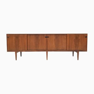 Danish Rosewood Model 49 Sideboard by Henry Rosengren Hansen for Brande Møbelindustri, 1960s