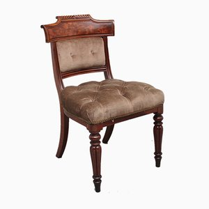 19th Century Mahogany Dining Chairs, Set of 6