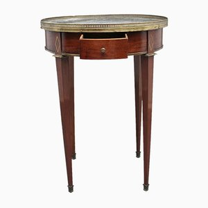 19th Century Mahogany and Marble Top Occasional Table