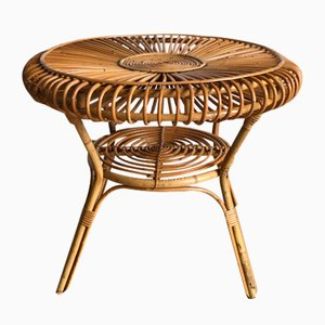 Wicker Table, 1960s