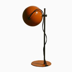 Orange Space Ball Table Lamp, London, 1960s
