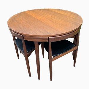 Esstisch & Stühle von Frem Röjle für Frem Røjle, 1960er, 5er Set