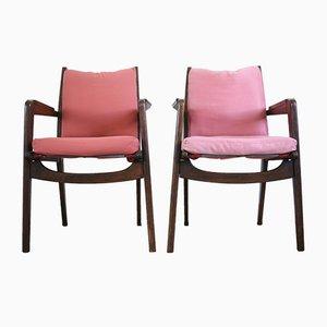 Modell FS106 Sessel von Pierre Guariche für Free Span, Frankreich, 1950er, 2er Set