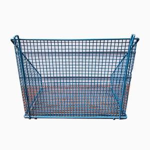 Blue Baskets, 1960s, Set of 2