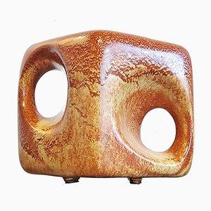 Cube Vase by Roberto Rigon for Bertoncello, 1970s