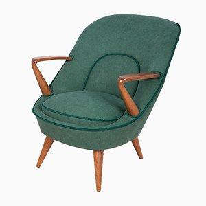 Fauteuils Modèle 345 par Janina Jędrychowicz & Konrad Racinowski pour Poznan Furniture Factory, 1950s, Set de 2