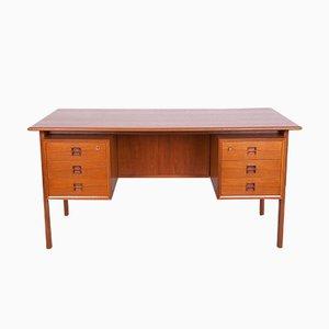 Dänischer Mid-Century Teak Schreibtisch von Arne Vodder für Sibast, 1960er