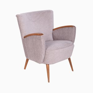 Mid-Century Grey Club Chair, 1960s