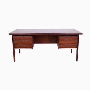 Mid-Century Freestanding Rosewood Desk, 1960s