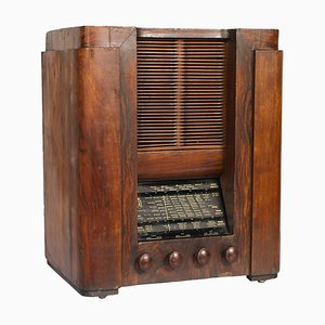 Radio Tube Art Déco de Magnadyne, 1930s