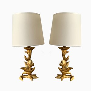 French Table Lamps by Mathias for Fondica, 1990s, Set of 2
