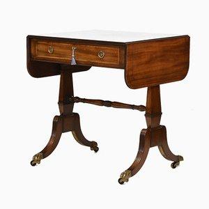 Regency Style Mahogany Sofa Table from Arthur Brett & Sons, 1980s