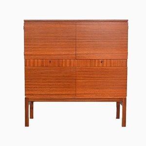 Modernist Rosewood Cabinet, Belgium, 1964