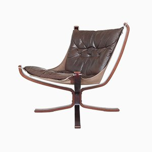 Falcon Lounge Chair by Sigurd Resell for Vatne Møbler, Norway, 1970s
