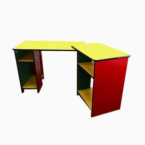 Modularer Büro-Schreibtisch, Frankreich, 1980er