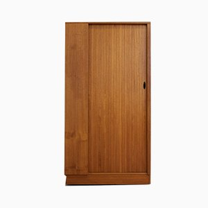 Teak Tambour Door Wardrobe from Austinsuite, 1960s
