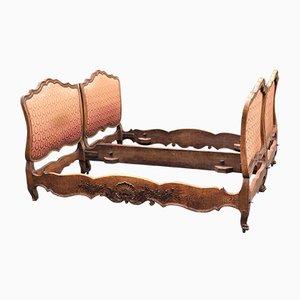 Französische Super King King Betten aus Mid-19. Jahrhundert, 2er Set