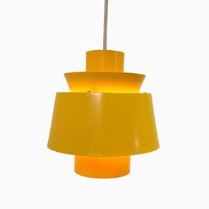 Yellow Hanging Lamp from Denmark, 1966