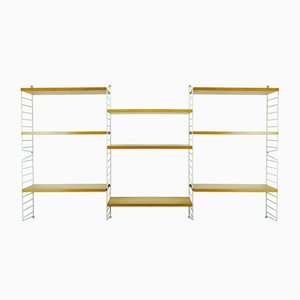 "Mid-Century String Wall Ladder Shelf by Strinning, Kajsa & Nils ""Nisse"" for String"