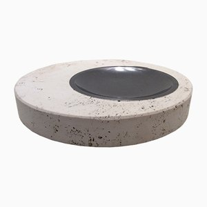 Rapolano Travertine Ashtray by Fratelli Mannelli, 1970s