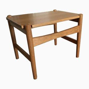 Table d'Appoint Vintage en Chêne par Hans J. Wegner pour PP Møbler, Scandinavie, 1960s
