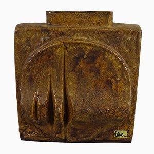 Mid-Century Keramik Vase von Schäffenacker, 1970er
