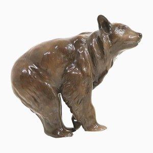 Figurine d'Ours Marron Mid-Century de Rosenthal