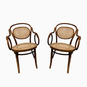 Bentwood Armchairs from ZPM Radomsko, 1920s, Set of 2