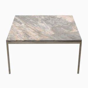 Tavolino da caffè in marmo Cipollino di Florence Knoll Bassett per Knoll Inc. / Knoll International, anni '90