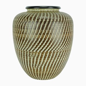 Post Bauhaus Art Deco Modell No. 27/30 Scratch Decor Vase von Dümler & Breiden