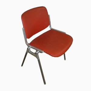 Italian Office Chair by Giancarlo Piretti for Castelli / Anonima Castelli, 1970s