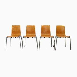 Beistellstühle von Kusch + Co, 1990er, 4er Set