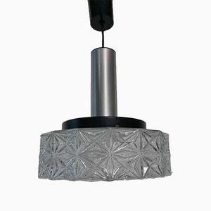 Mid-Century Ice Ceiling Lamp from Kaiser Leuchten